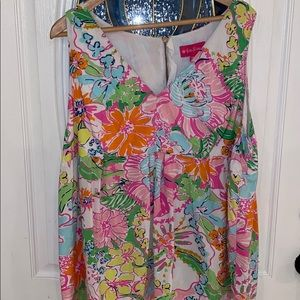 Lilly Pulitzer for target plus size blouse 3x